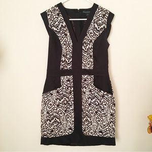 French Connection Shift Dress - Size 10